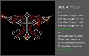 transfer rhinestone designs