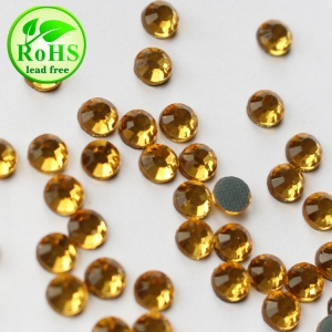 SS6/10/16/20/30 Topaz Color Low Lead Hotfix Korean Rhinestone Korean