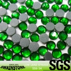 SS6-SS30 Deep Green Korean Strass Low Free