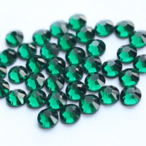 SS6-SS30 Emerald DMC Hotfix Rhinestone
